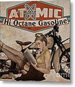 Atomic Gasoline Metal Print
