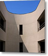 Atrium 2 Palm Springs Metal Print