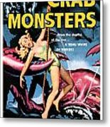 Attack Of The Crab Monster 1957  Metal Print
