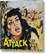 Attack Of The Jungle Women, 1959 Metal Print