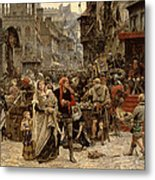 Atterdag Holding Visby To Ransom 1361 Metal Print