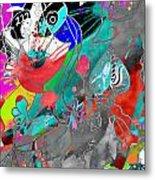 Attributes Of Aggression Three Metal Print