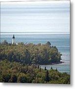 Au Sable Lighthouse Metal Print