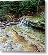 Au Train Falls II Metal Print