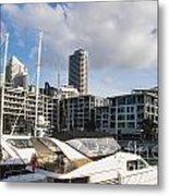 Auckland City View Metal Print