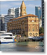 Auckland Ferry Terminal Metal Print