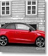 Audi A1 Car Metal Print