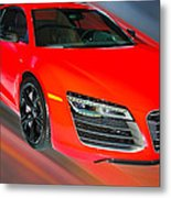 Audi R8 V10 Plus Quattro Coupe 2014 Metal Print