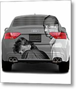Audi S5 Laid Back Copenhagen Metal Print by Jan W Faul