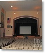 Auditorium In Clare Michigan Metal Print