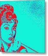 Audrey Hepburn 20130330v2p128 Metal Print