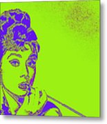 Audrey Hepburn 20130330v2p38 Metal Print