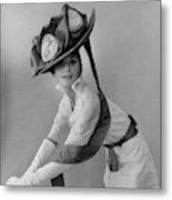 Audrey Hepburn In Costume For My Fair Lady Metal Print