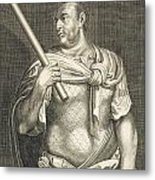 Aullus Vitellius Emperor Of Rome Metal Print by Titian