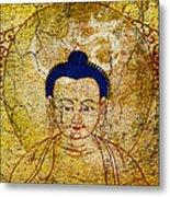 Aum Buddha Metal Print by Tim Gainey