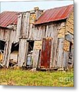 Aunt Olive's House Metal Print