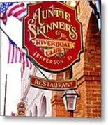 Auntie Skinner's  Riverboat  Club Metal Print