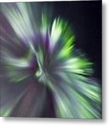 Aurora Borealis Corona Metal Print