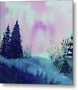 Aurora Borealis I Metal Print