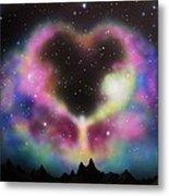 Aurora Borealis The Blessing Metal Print