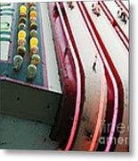 Aurora Theater Marquee - Detail Metal Print