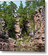 Ausable Chasm 1608 Metal Print