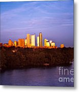Austin At Last Light Metal Print