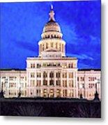 Austin State Capitol Building, Texas - Metal Print