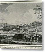 Australia 18th C.. English Colony Metal Print