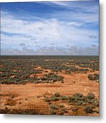 Australia Null Harbor Plain Metal Print
