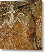 Indigenous Aboriginal Art 3 Metal Print