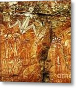 Australia Ancient Aboriginal Art 2 Metal Print