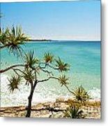 Australian Beach Metal Print