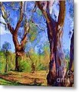Australian Native Tree 2 Metal Print