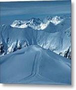 Austria Mountain Ischgl Metal Print