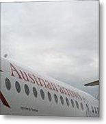 Austrian Arrows Plane Metal Print