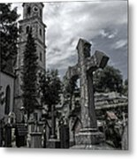 Austrian Graveyard Metal Print