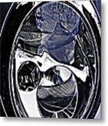 Auto Headlight 111 Metal Print