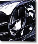 Auto Headlight 155 Metal Print
