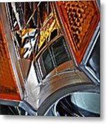 Auto Headlight 52 Metal Print