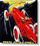 Automobile Club Catania Metal Print