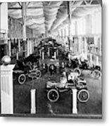 Automobile Display, 1904 Metal Print