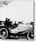 Automobile Racing, 1905 Metal Print