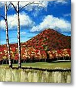 Autum Hill Metal Print