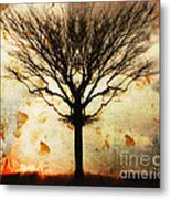 Autum Wind Metal Print