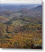 Autumn Across The Shenandoah Metal Print