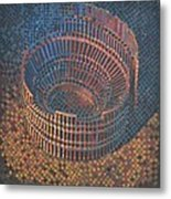 Autumn Amphitheatre Metal Print