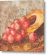 Autumn Apples Metal Print
