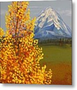Autumn At Mt Shasta Metal Print