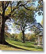 Autumn At Runnymede Uk Metal Print